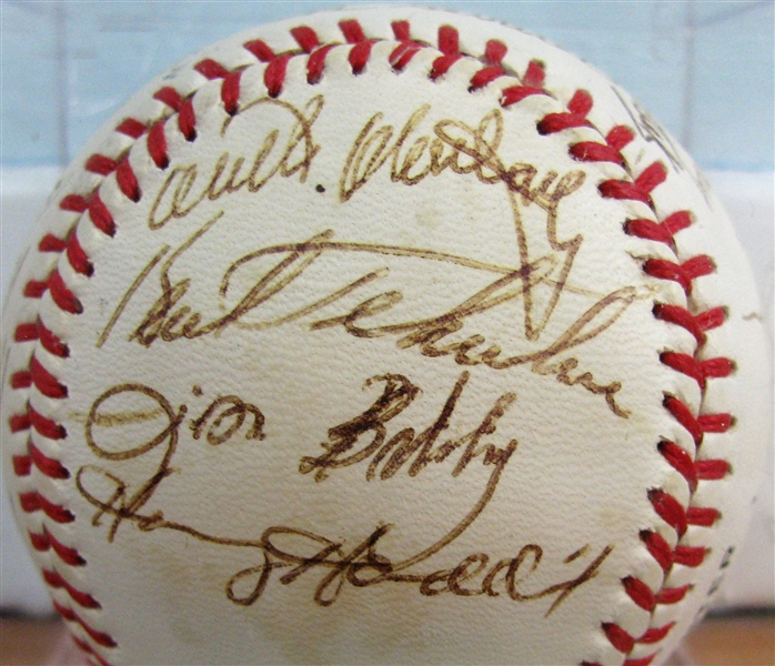 1981 PITTSBURGH PIRATES TEAM SIGNED BASEBALL - STARGELL  w/CAS