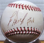 LEE SMITH #46 SIGNED BASEBALL w/ TRI-STAR