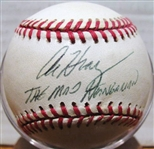 "AL HRABOSKY ""THE MAD HUNGARIAN"" SIGNED BASEBALL w/ SGC COA"
