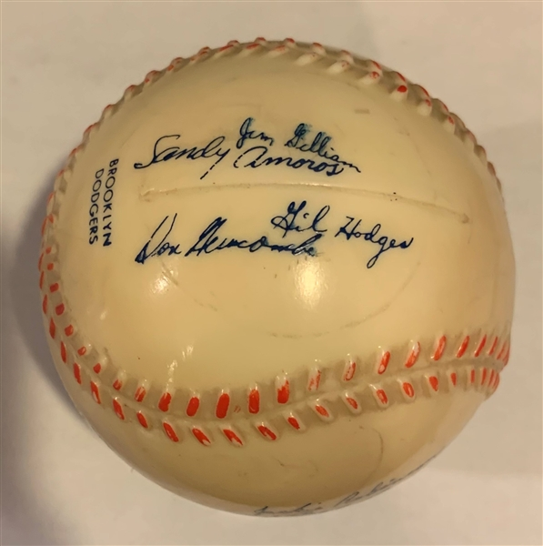 50's BROOKLYN DODGERS PREMIUM BASEBALL BANK