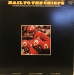 1970 HAIL TO THE CHIEFS RECORD ALBUM