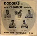"1960 LOS ANGELES DODGERS ""DODGERS IN CHARGE"" RECORD"