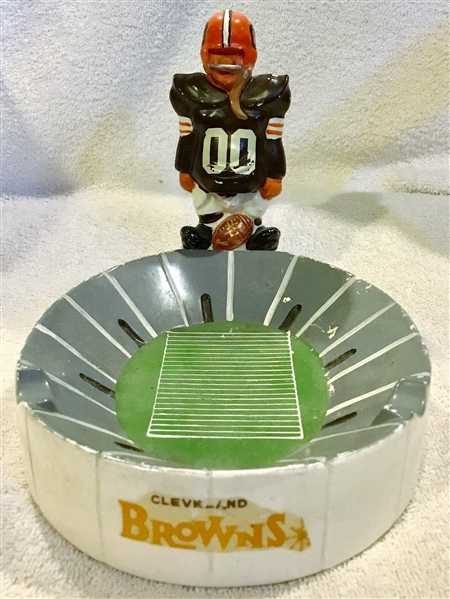 60's CLEVELAND BROWNS KAIL ASHTRAY