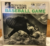 50s MEL ALLENS BASBEALL GAME / RECORD ALBUM
