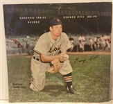 "50s GEORGE KELL ""PLAYING THIRD BASE"" RECORD"