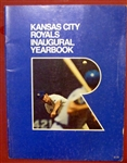 1969 KANSAS CITY ROYALS YEARBOOK - 1st YEAR OF FRANCHISE