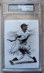ROGER MARIS SIGNED PHOTO PSA SLABBED