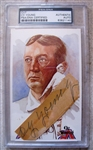 CY YOUNG SIGNED CUT PSA SLABBED & AUTHENTICATED