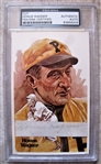 HONUS WAGNER SIGNED CUT PSA SLABBED & AUTHENTICATED