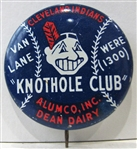 CLEVELAND INDIANS KNOTHOLE CLUB PIN
