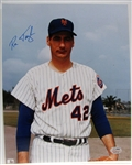 RON TAYLOR SIGNED COLOR PHOTO w/SGC