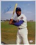 ED CHARLES SIGNED COLOR PHOTO w/SGC