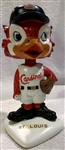 "60s ST. LOUIS CARDINALS ""WHITE BASE"" BOBBING HEAD"