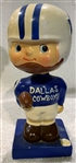 "60s DALLAS COWBOYS ""SQUARE BASE"" BOBBING HEAD"