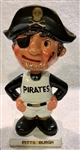 "60s PITTSBURGH PIRATES ""WHITE BASE"" BOBBING HEAD"