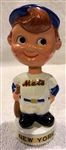 60s NEW YORK METS mini BOBBING HEAD