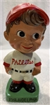 "VINTAGE PHILADELPHIA PHILLIES ""WEDGE BASE"" BOBBING HEAD - RARE"