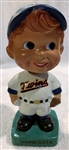 "VINTAGE MINNESOTA TWINS ""WEDGE BASE"" BOBBING HEAD"