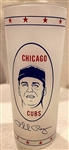 "1969 PHIL REGAN ""CHICAGO CUBS"" DRINKING GLASS"