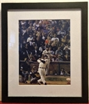 BARRY BONDS SIGNED PHOTO w/BONDS AUTENTICATION