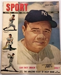 MAY 1948 SPORT MAGAZINE w/RUTH COVER