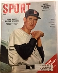 JULY 1956 SPORT MAGAZINE w/TED WILLIAMS COVER
