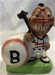 60s BOSTON BRAVES MASCOT BANK