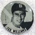 40s / 50s TED WILLIAMS PM-10 PIN - BOSTON RED SOX
