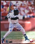 KEVIN MITCHELL COLOR SIGNED PHOTO /TRISTAR