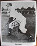 TOMMY LASORDA SIGNED PHOTO w/CAS COA