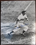 DUKE SNIDER SIGNED PHOTO w/CAS COA