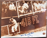AL GIONFRIDDO SIGNED COLOR PHOTO w/CAS COA