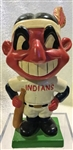 "60s CLEVELAND INDIANS ""COLOR BASE"" BOBBING HEAD - RARE"