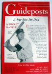 "SEPTEMBER 1953 ""GUIDEPOSTS"" w/MICKEY MANTLE"