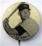 50s MICKEY MANTLE PM-10 PIN