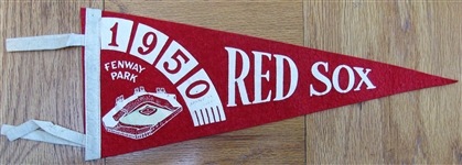 1950 RED SOX PENNANT