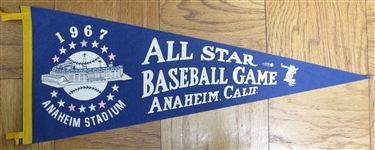 1967 ALL-STAR GAME PENNANT