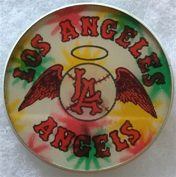 60's LOS ANGELES ANGELS FLICKER PIN