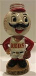 "60s CINCINNATI REDS ""GOLD BASE"" BOBBING HEAD"