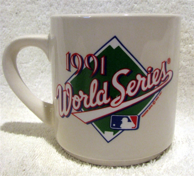 1991 MINNESOTA TWINS WORLD SERIES MUG