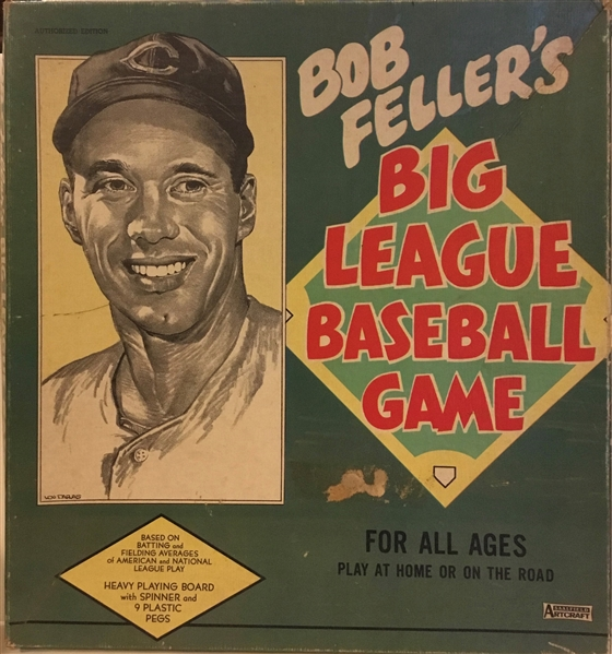 1949 BOB FELLER's BIG LEAGUE BASEBALL GAME