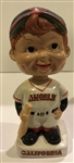 "VINTAGE CALIFORNIA ANGELS ""WEDGE BASE"" BOBBING HEAD"