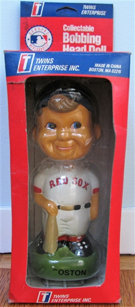 BOSTON RED SOX BOBBING HEAD w/BOX
